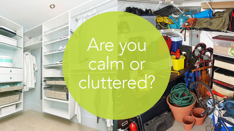 Clutter quiz from Helen Sanderson to see if you have a clutter problem and could benefit from decluttering