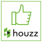 Houzz badge for Helen Sanderson decluttering services, creating calm from clutter