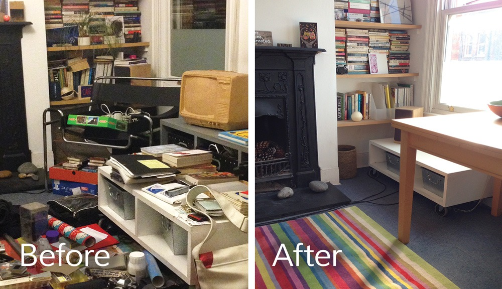 Declutter in Walthamstow north London