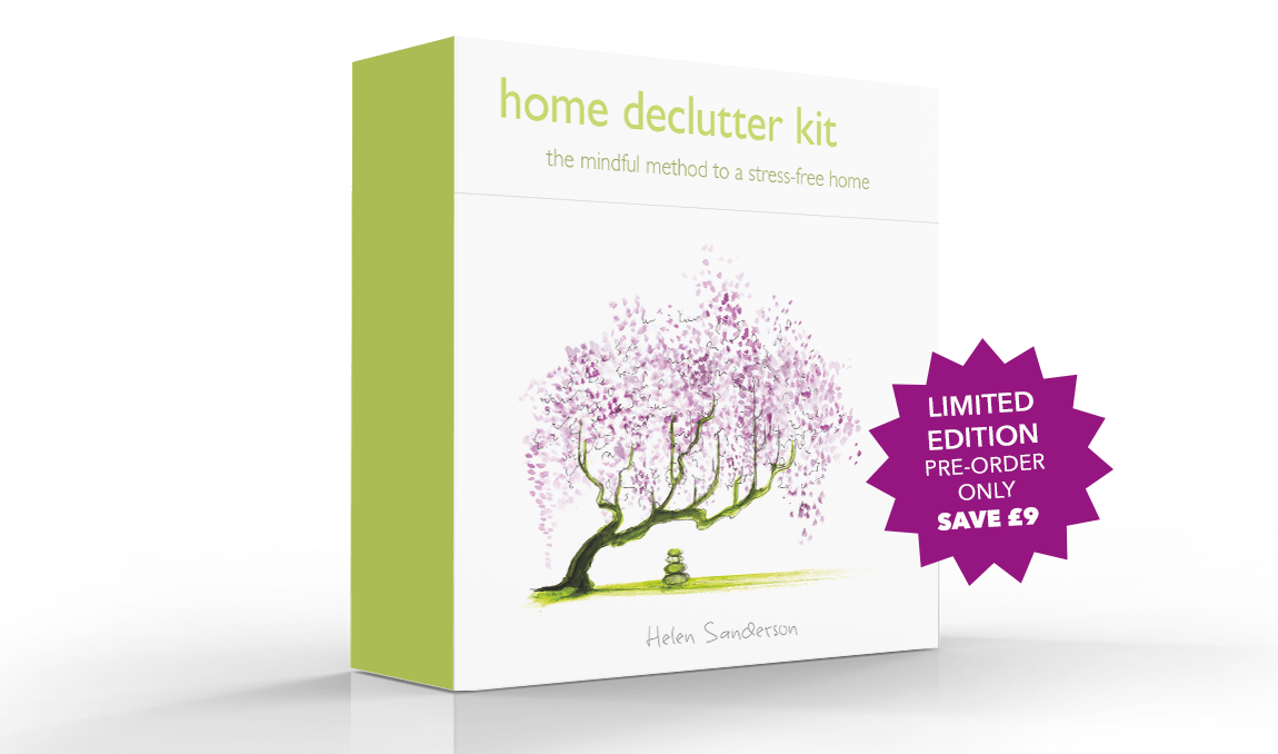 Home Declutter Kit by Helen Sanderson helps you declutter you home, creating calm from clutter