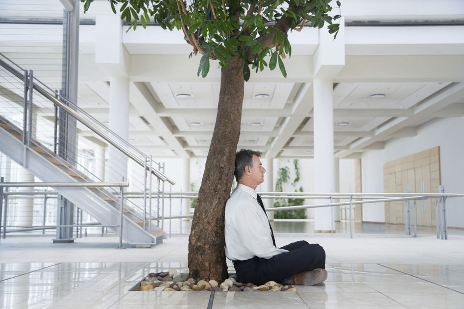 Space for mindfulness at work