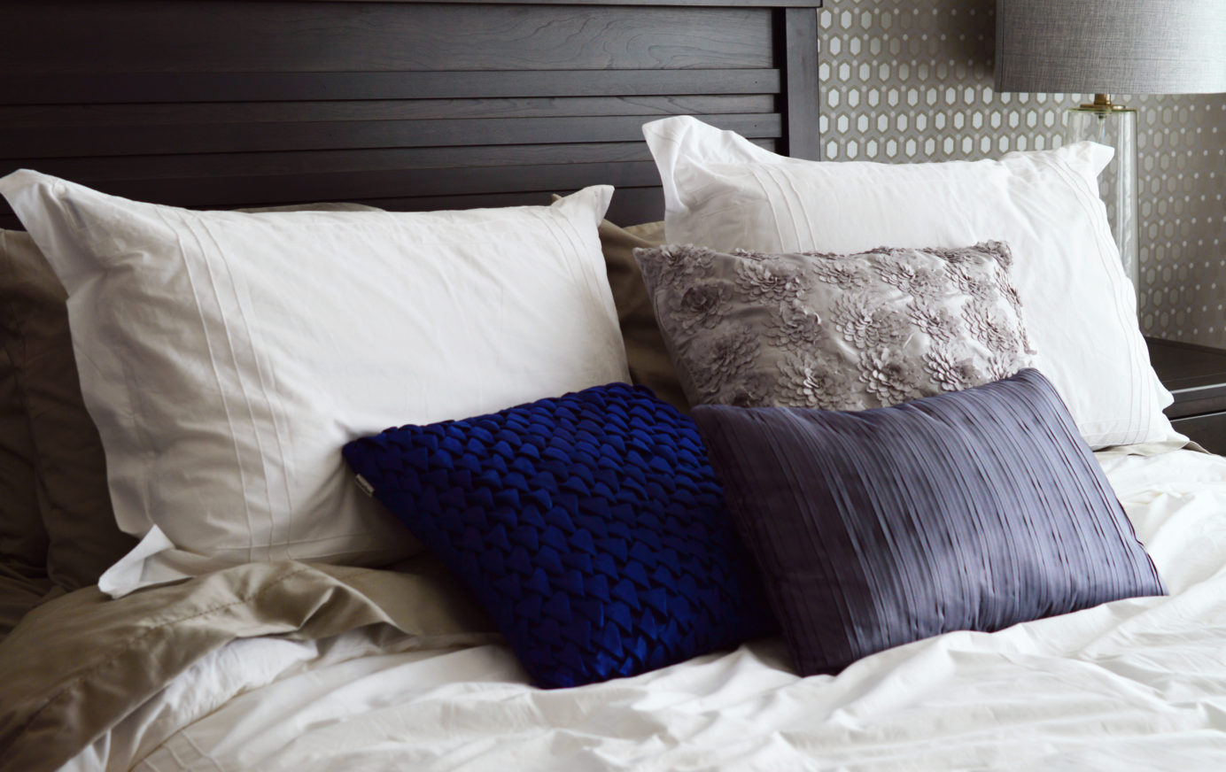 Tips for a calmer bedroom from Helen Sanderson