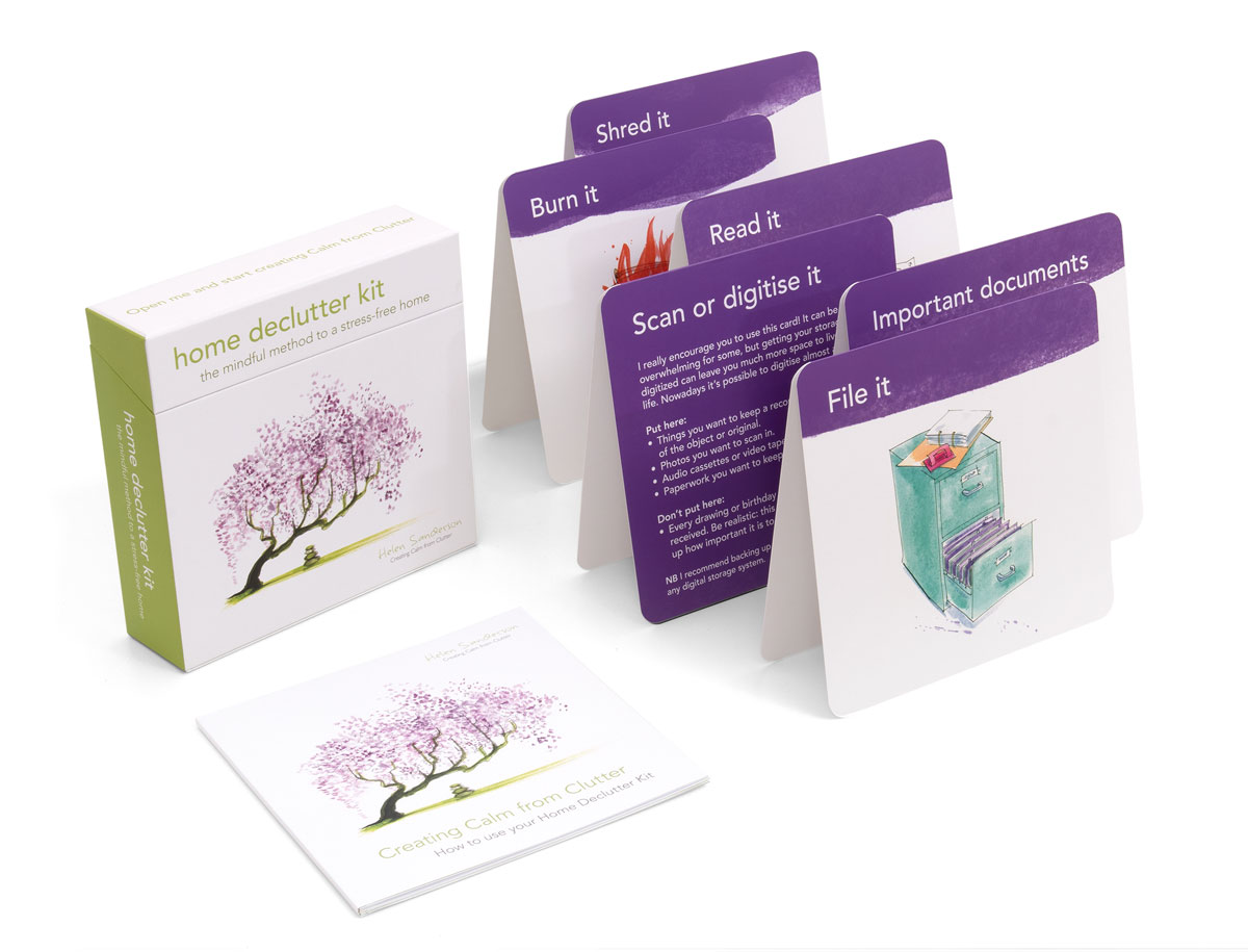Home Declutter Kit organise your paperwork set