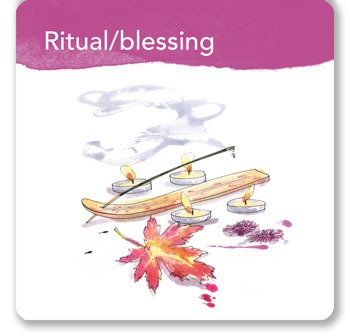 Ritual card from the Home Declutter Kit