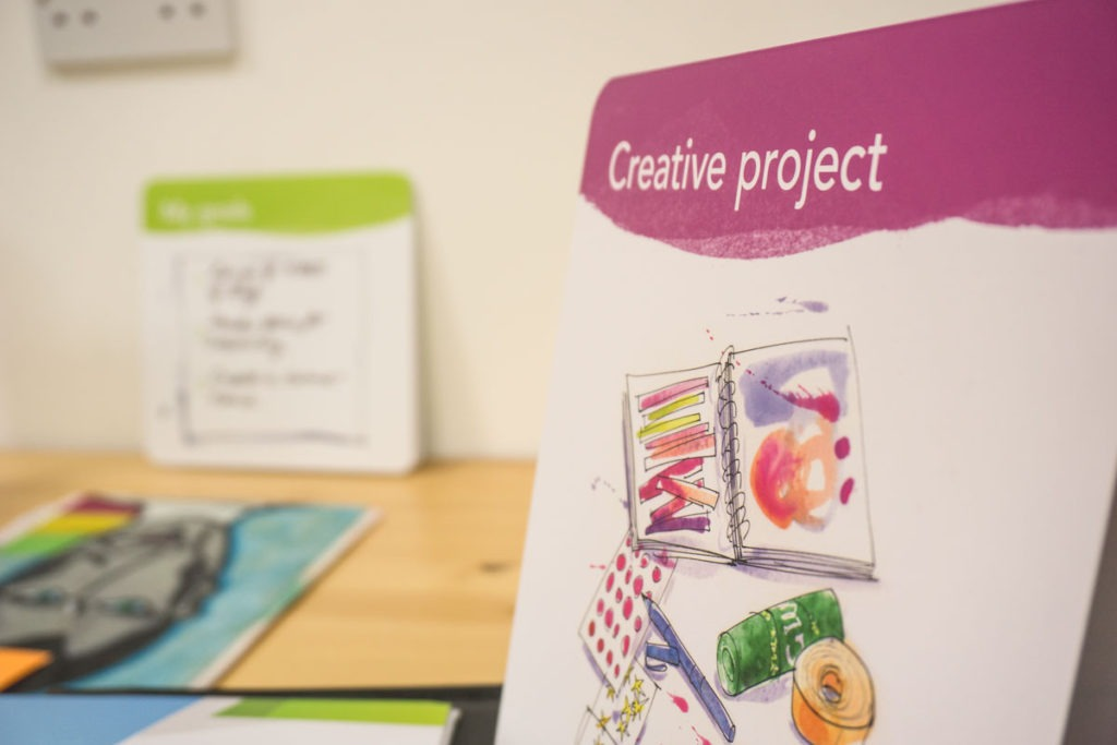 Creative projects help to keep those precious memories intact when you are decluttering