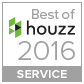 Houzz 2017 award for Helen Sanderson decluttering services, creating calm from clutter
