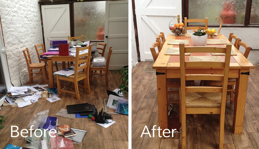 Declutter in Finchley north London