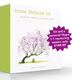 Home Declutter Kit and mentoring with Helen Sanderson