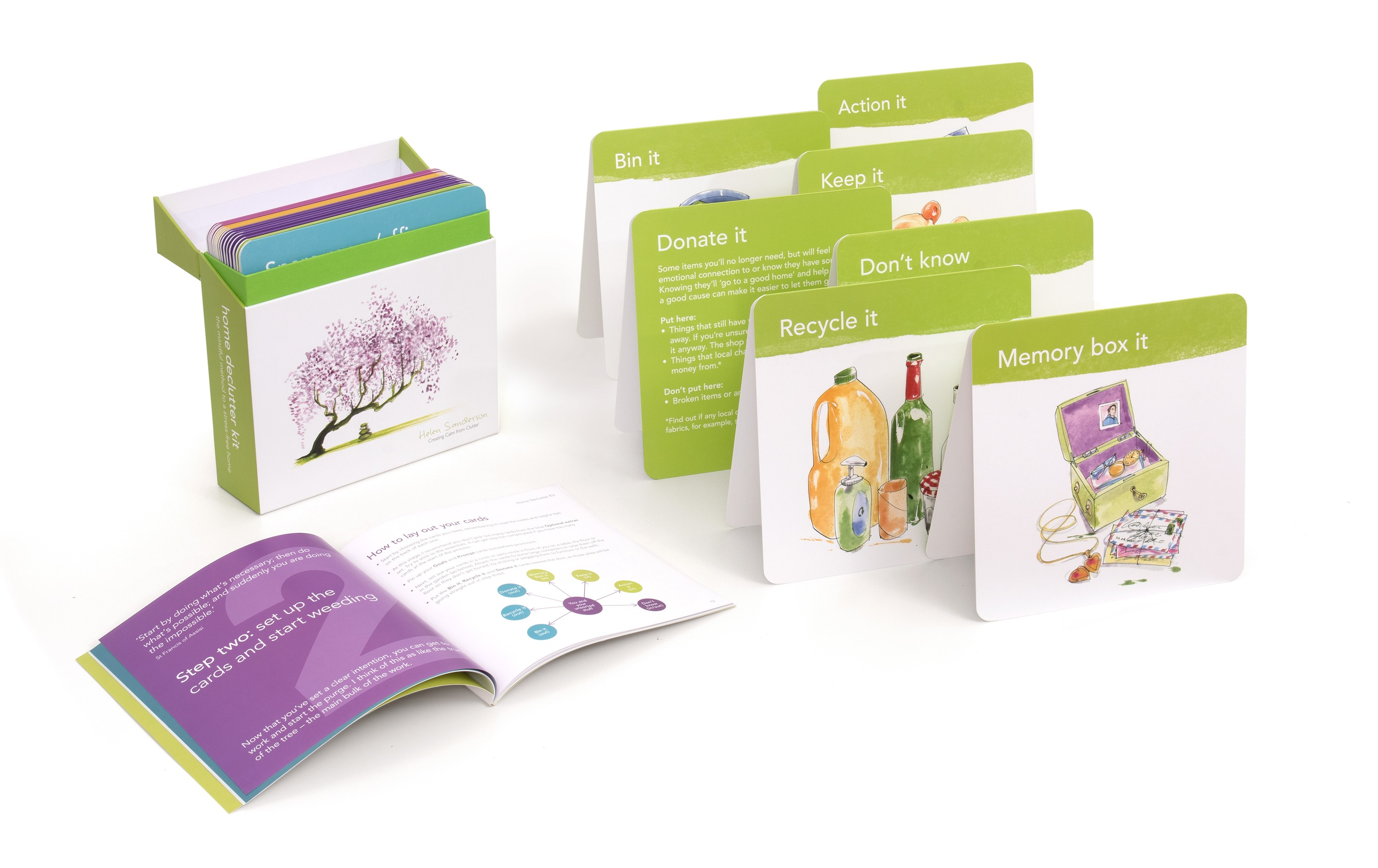 Packed with decluttering tips, the home declutter kit is the ultimate decluttering resource.